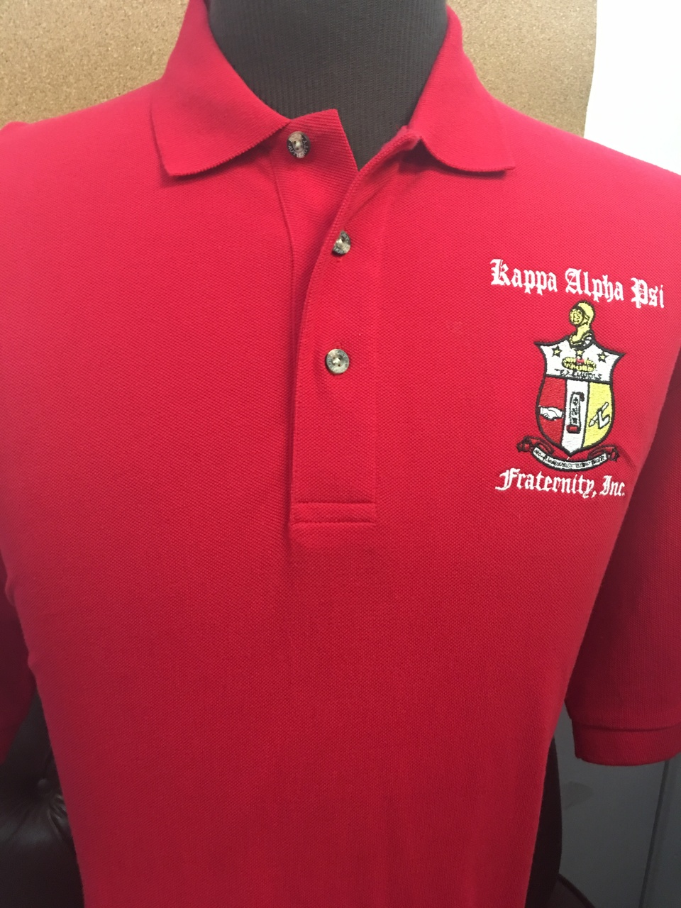 KAP PA OLD ENG - POLO RED