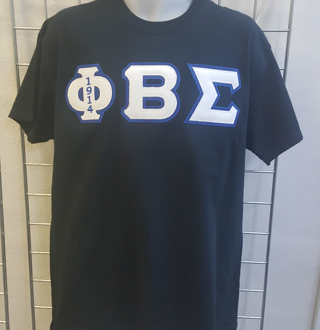 PBS 3 LETTER EMB - BLACK