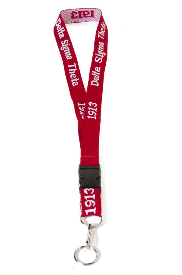 DST EMBROIDERED LANYARD