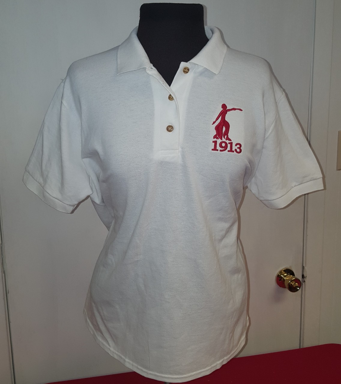 DST FORTITUDE - LADIES POLO WHT