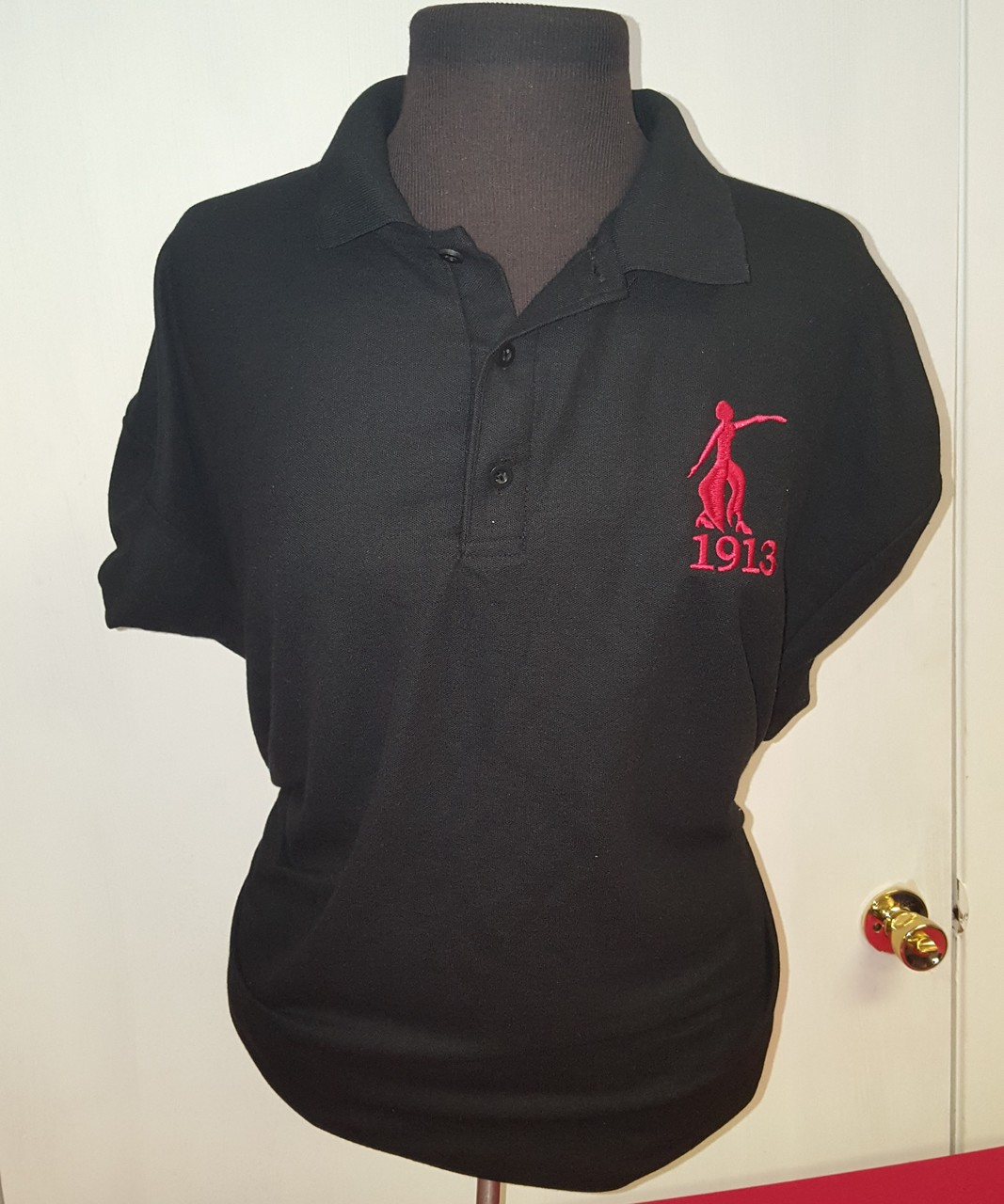 DST FORTITUDE POLO - BLACK