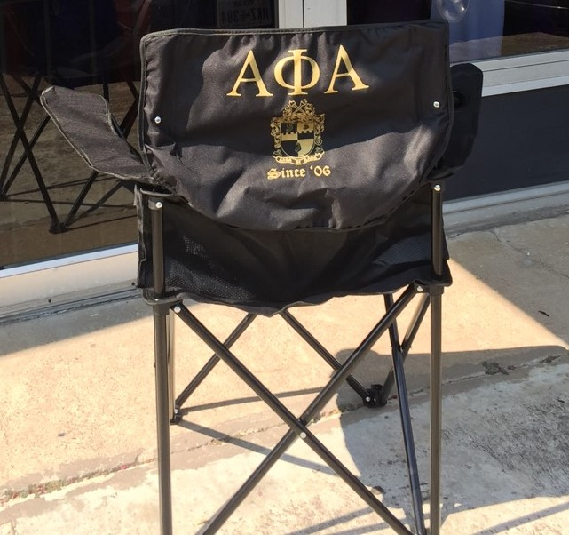 APA LAWN CHAIR - BLACK