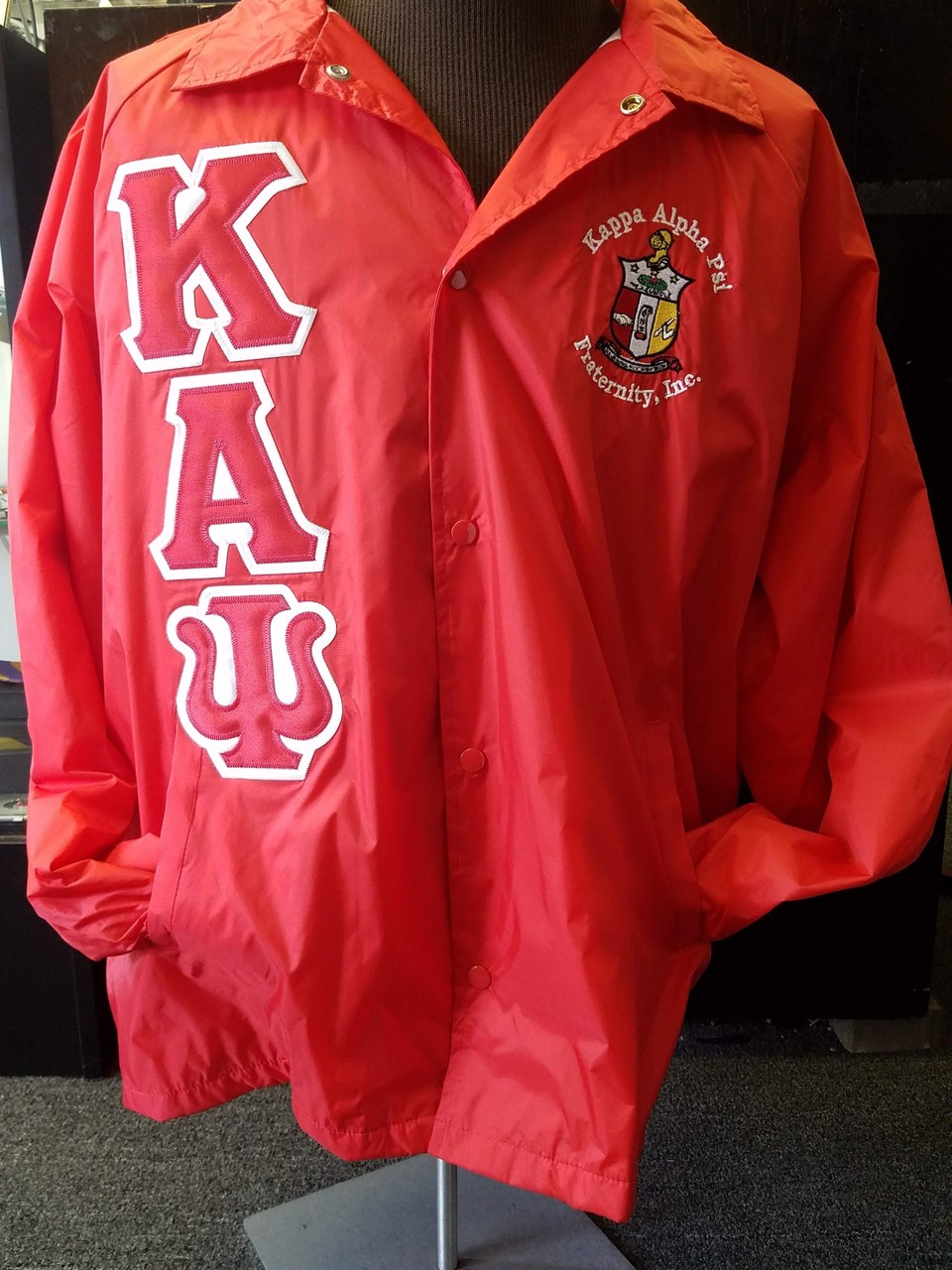 KAP STANDARD JACKET - RED