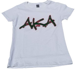 AKA GRAFFITI - LADIES WHITE