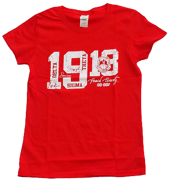 DST 1913 DISTRESSED - RED