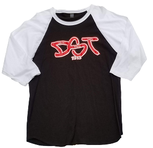 DST GRAFFITI RAGLAN- BLACK/WHITE