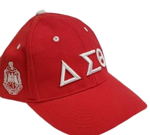 DST BASEBALL CAP - RED