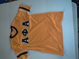 APA FOOTBALL FAN JERSEY - GLD/BLK/WT