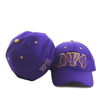 OMEGA PSI PHI PURPLE FLEX-FIT CAP