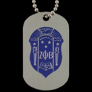 ZPB DBL SIDE DOG TAG
