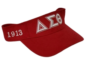 DST VISOR RED/WHITE