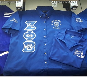 ZPB 3 LETTER - LADIES OXFORD Royal
