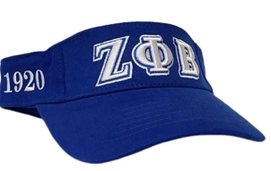 ZPB VISOR ROYAL/WHITE